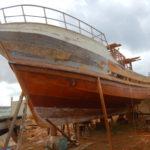 hantier de bateaux de peche a Palméra